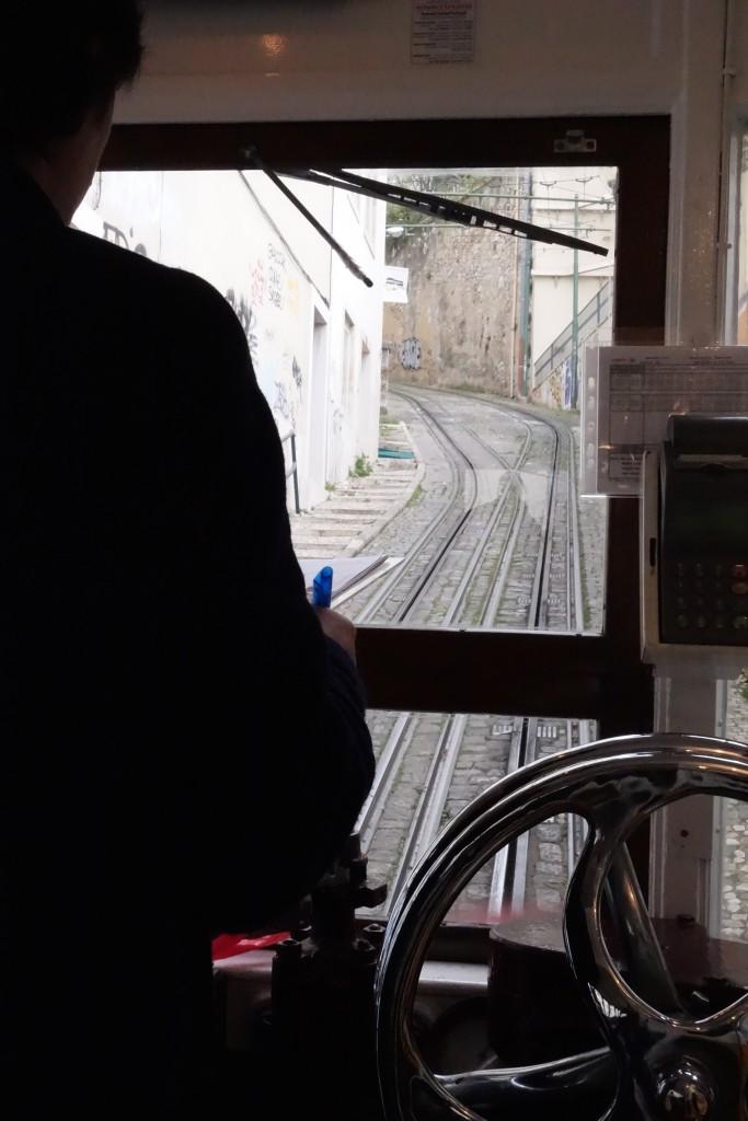 Ascensor do Lavra in Lissabon