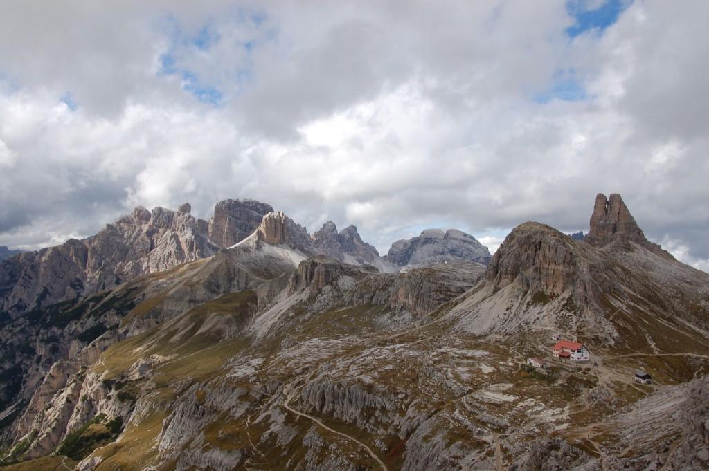 Bergwelt der Dolomiten bei Sexten