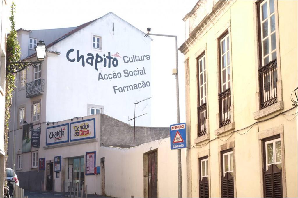 Chapito Eingang