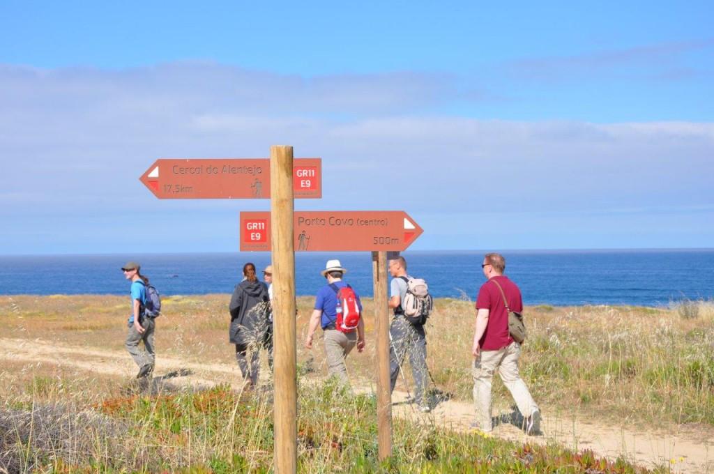Wandern entlang der Rota Vicentina an der portugiesischen Südküste