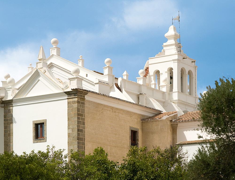 Kirche des Convento do Espinheiro Hotel & Spa bei Évora