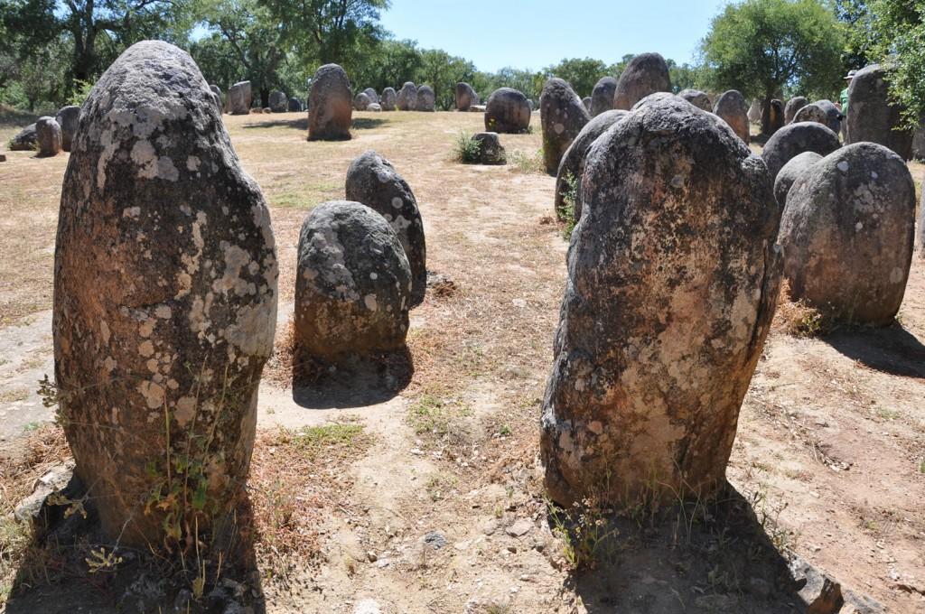 Jahrtausendealte Megalithformationen im Alentejo