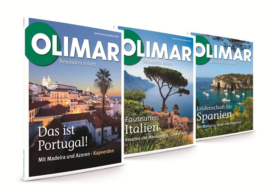OLIMAR Kataloge 2015 Portugal Italien Spanien