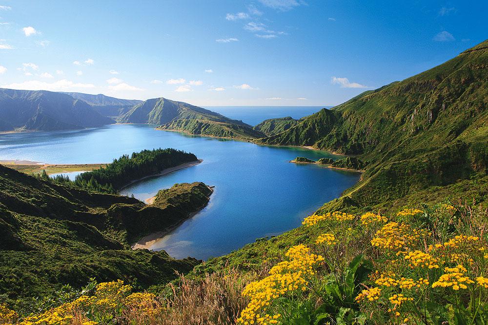 Azoren Sao Miguel-Lagoa Do Fogo