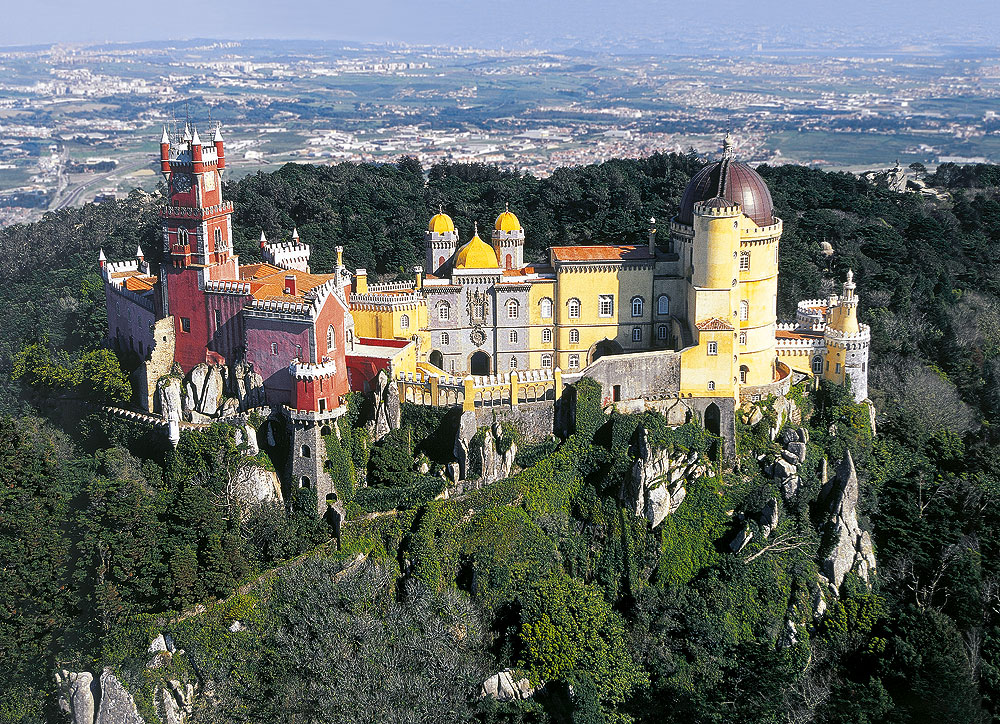 Portugals Märchenschloss: Der Palácio da Pena in Sintra