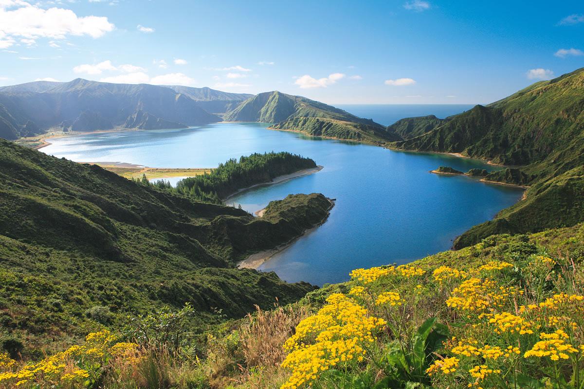 Azoren Lagoa Fogo See