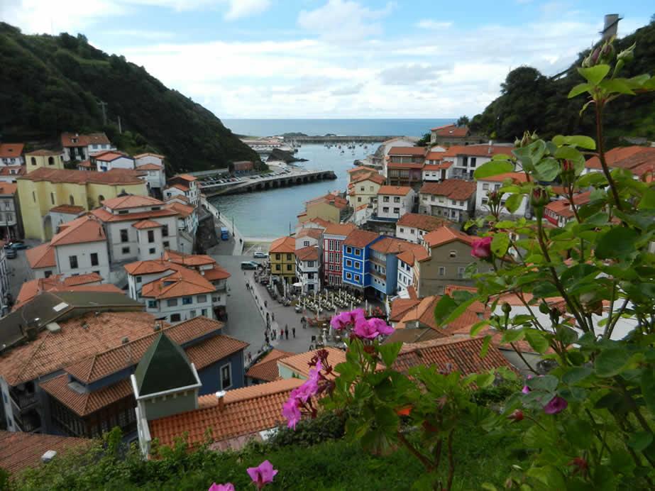 Cudillero Asturien Spanien Urlaub