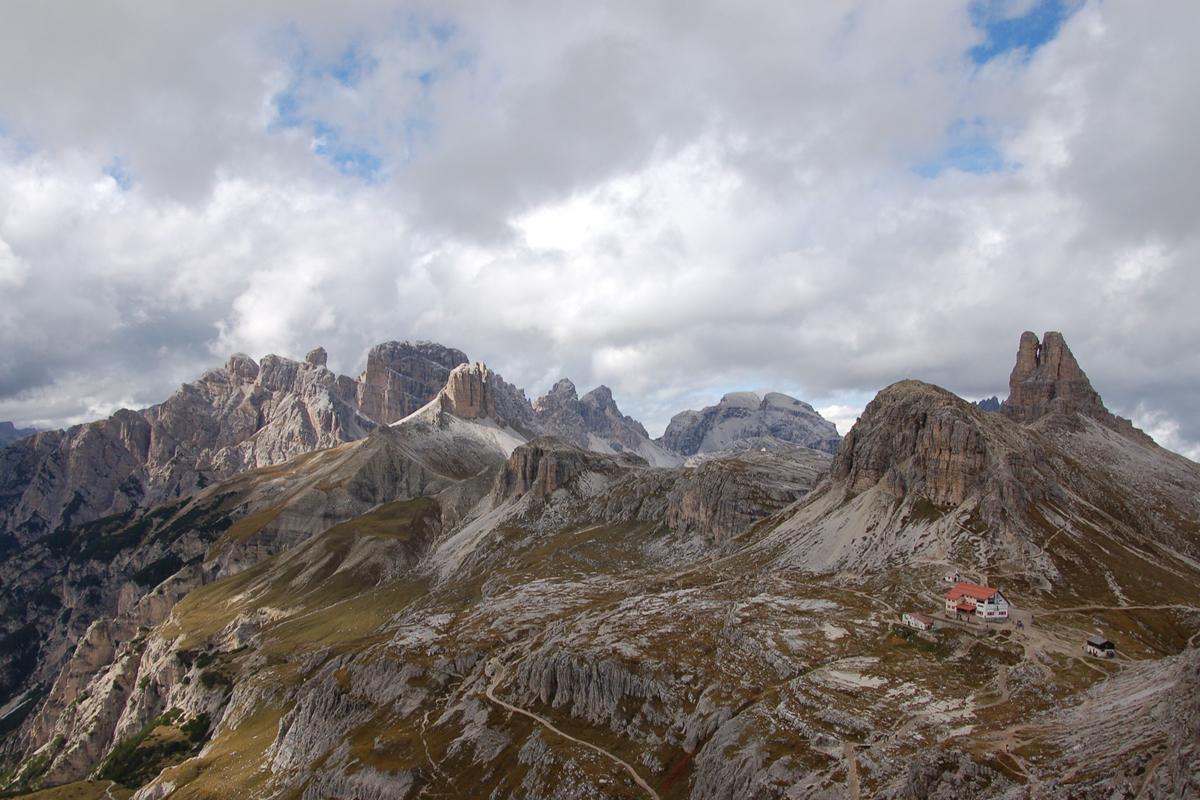 Südtirol Dolomiten Berge Urlaub