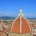 Ausblick Campanile Florenz Stadt
