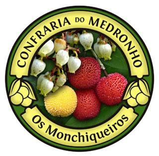 Wappen der Medronho-Bruderschaft von Monchique © Confraria do Medronho Os Monchiqueiros