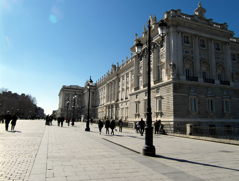 Königspalast Palacio Real in Madrid