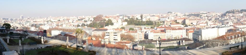 Panoramablick Miradouro S.Pedro d.Alc.