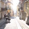Bica-Strecke Lissabon Straßenbahn