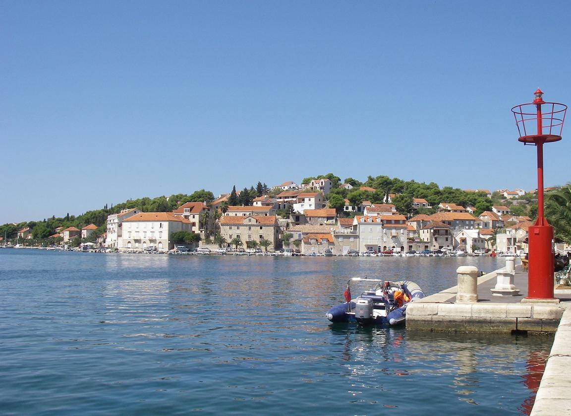 Insel Brac in Dalmatien