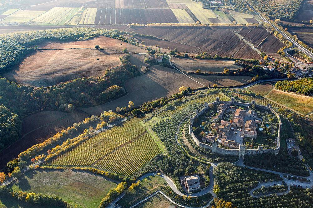 Monteriggioni Rundreise Italien
