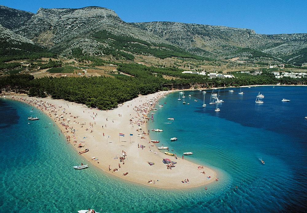 Berühmtester Strand Kroatiens: Das Goldene Horn auf Brač