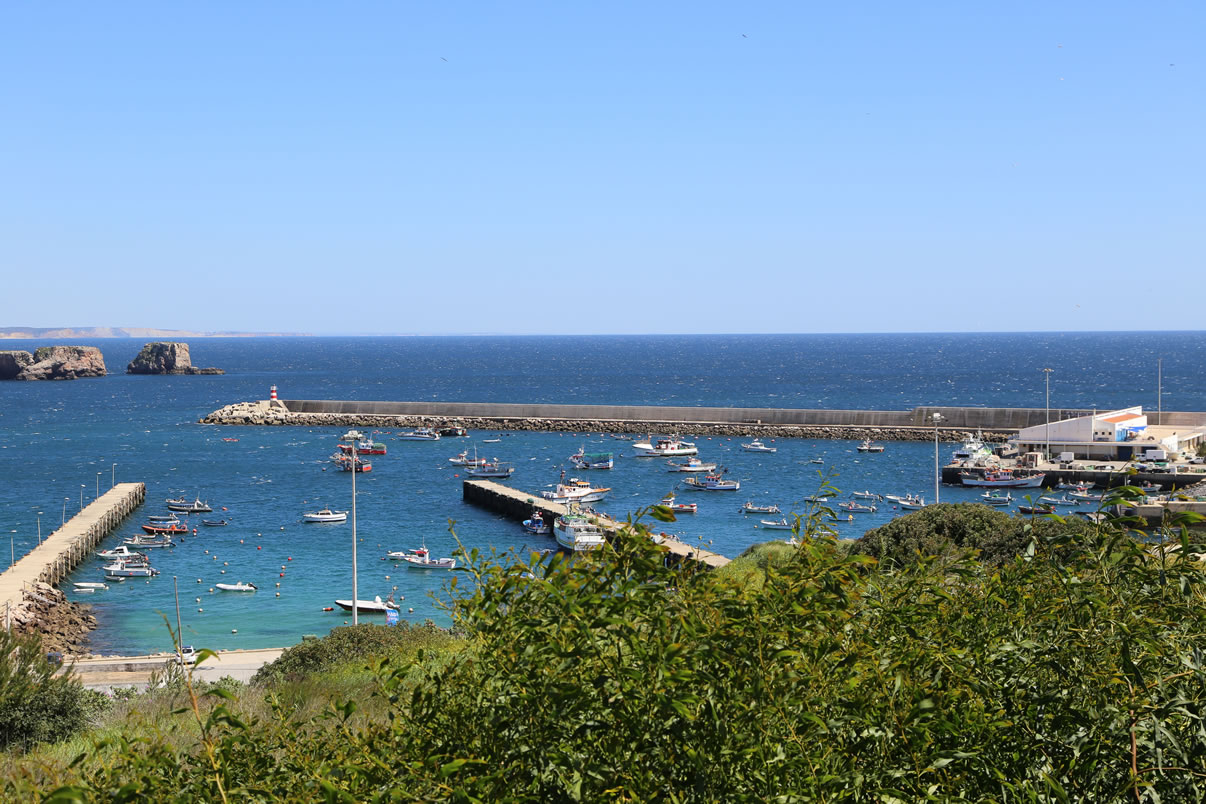 Hafen Lagos Panorama Insel