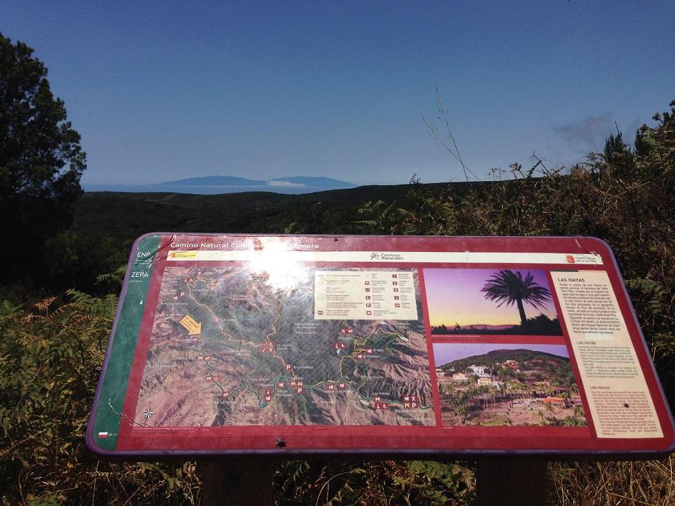 Blick über La Gomera