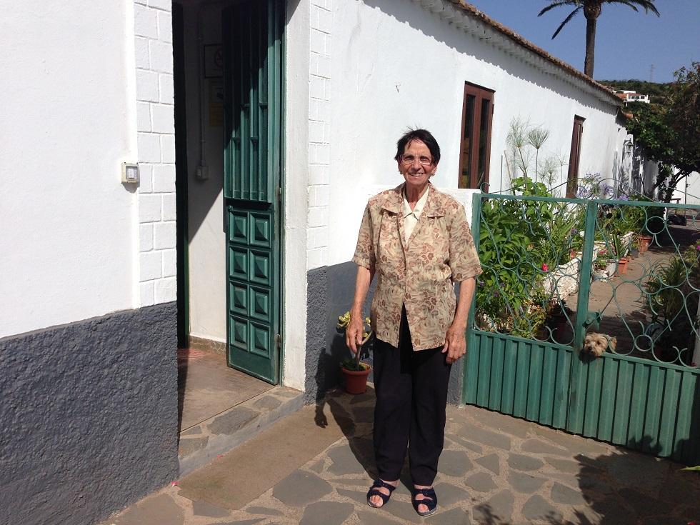 Gastgeberin Casa Efigenia, La Gomera