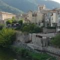 Ausblick auf Besalú in Katalonien