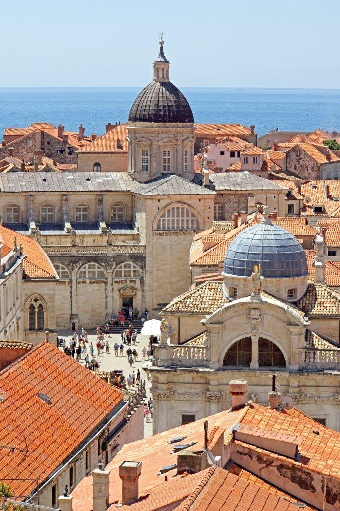 Blick auf die Altstadt Dubrovniks