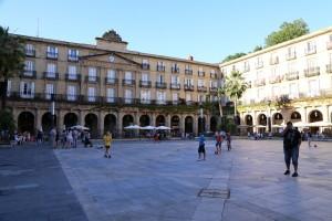 Plaza Nueva, Bilbao, Spanien