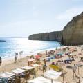 Strand und Felsen auf Fuerteventura