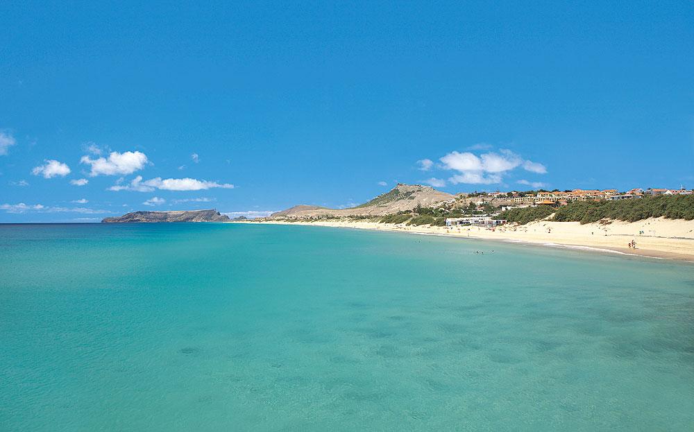 Meer und Strand auf Porto Santo