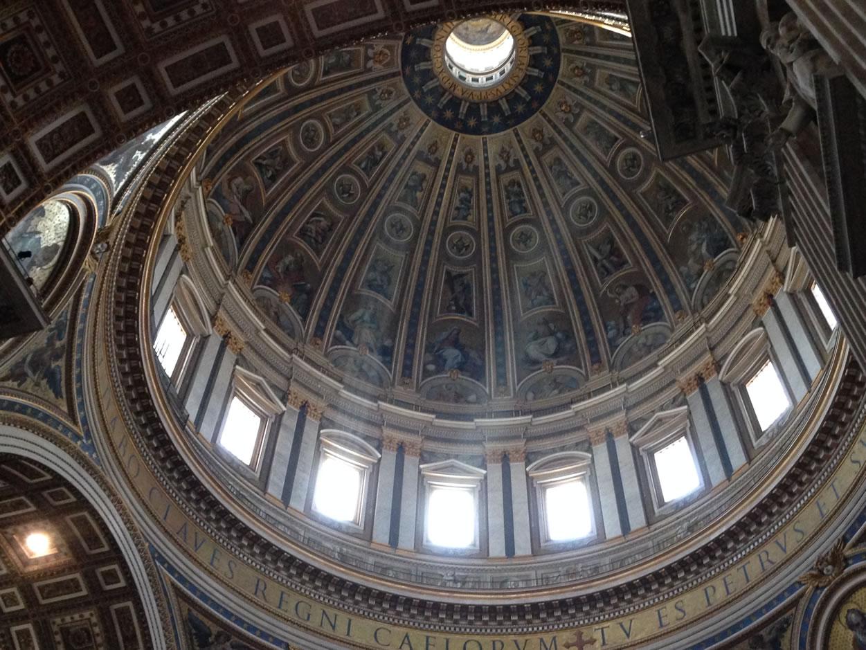 Kuppel des Petersdom Rom