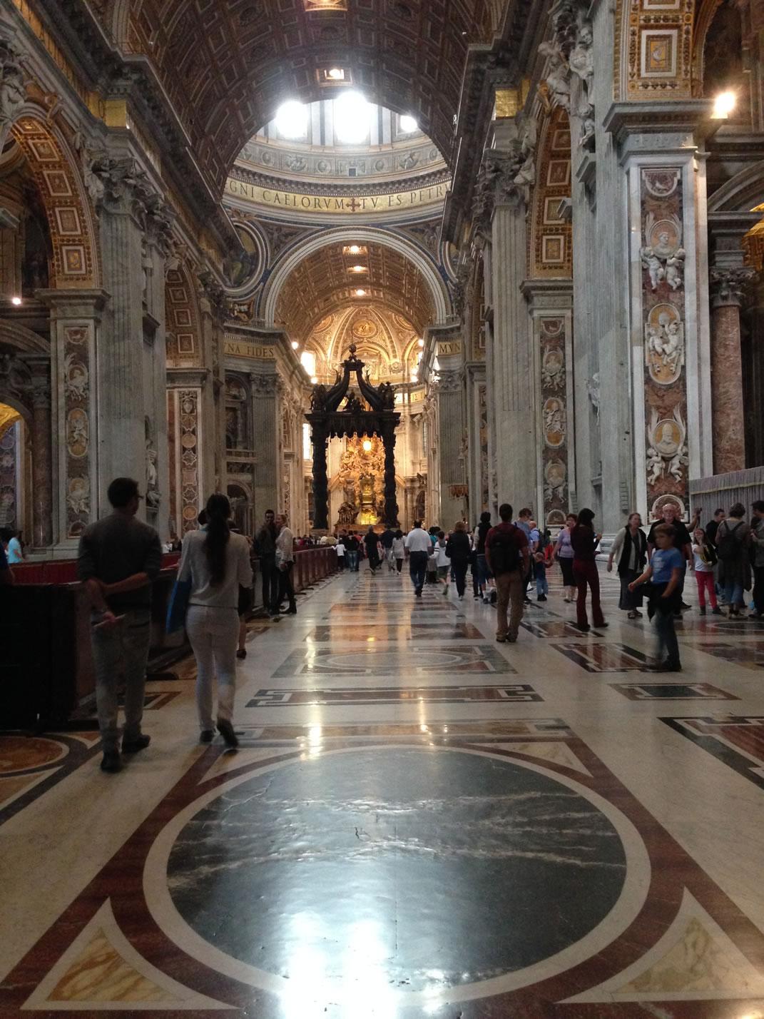 Petersdom Rom, Vatikan