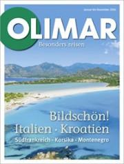 OLIMAR Katalog für Italien + Kroatien mit Südfrankreich, Korsika, Montenegro