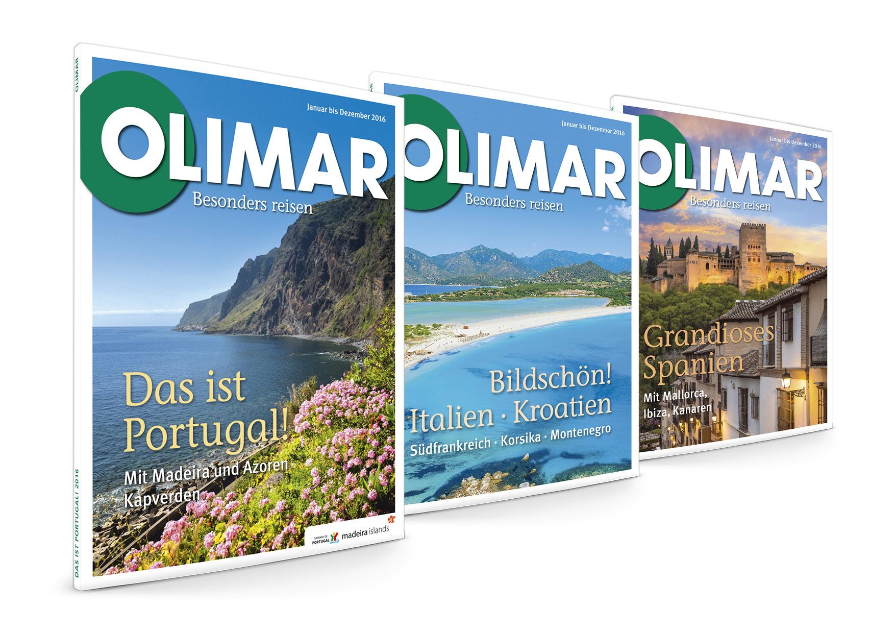 Die neuen OLIMAR Kataloge 2016