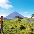 Wanderer auf den Azoren
