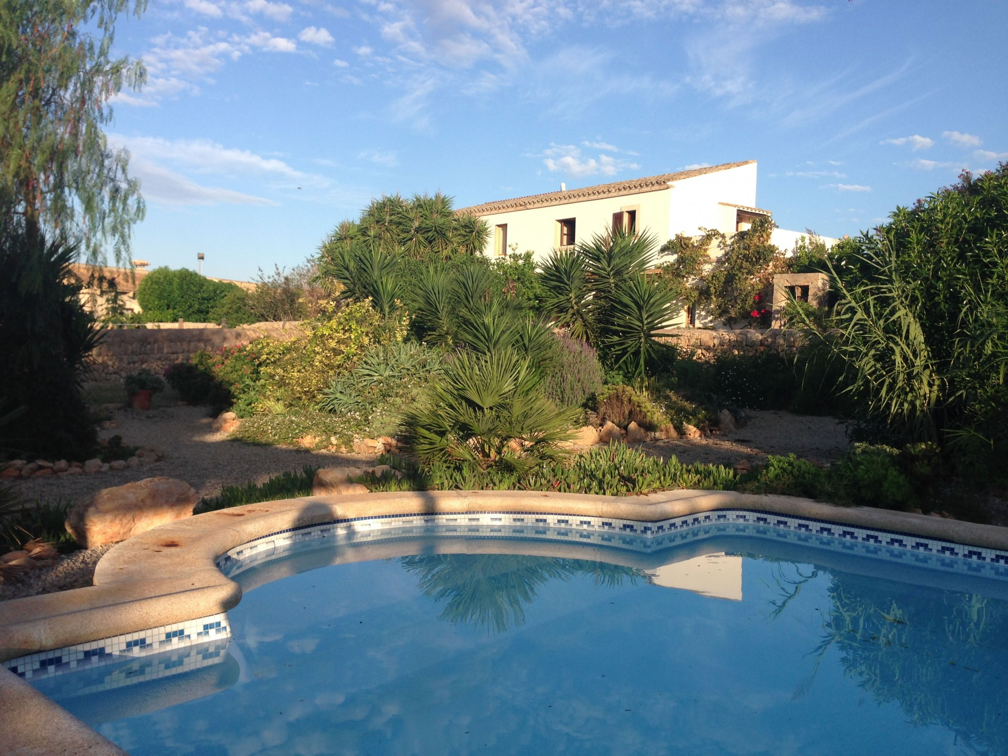 Finca Can Paulino – Blick vom Pool