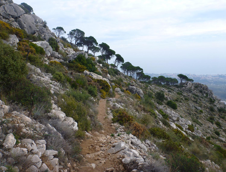 Wanderweg Sierra de Mijas