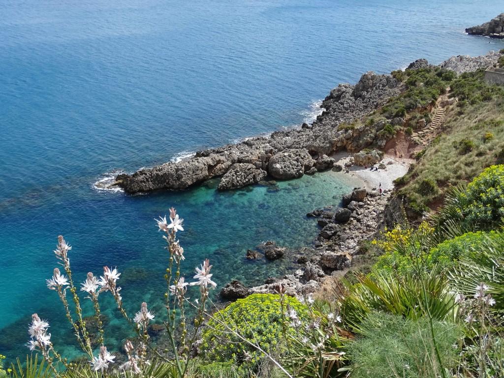 Eine der traumhaften Buchten im Zingaro-Naturpark | Bild: S. Olschner