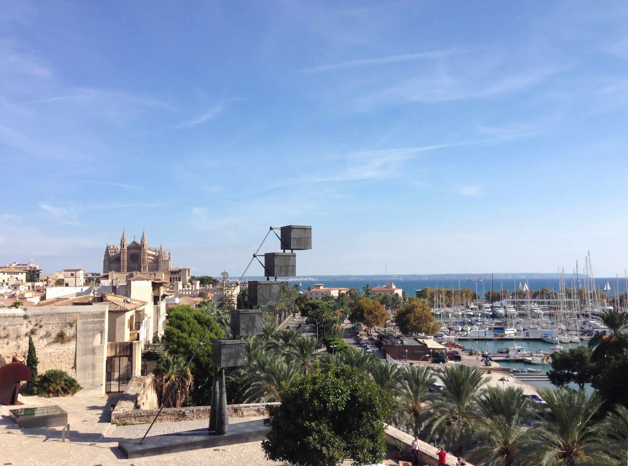 Ausblick Baluard in Palma