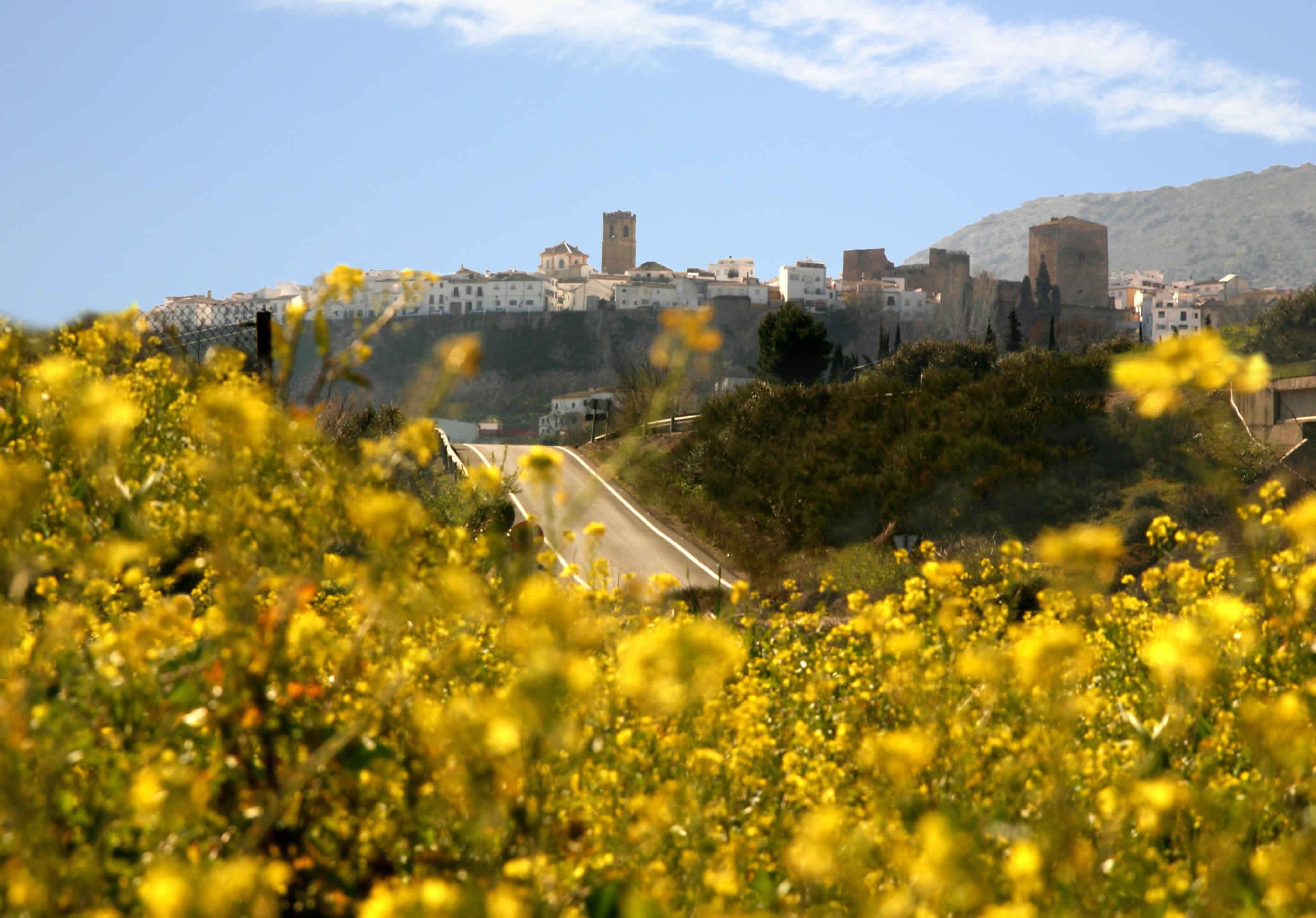Blick auf Priego de Córdoba in Andalusien