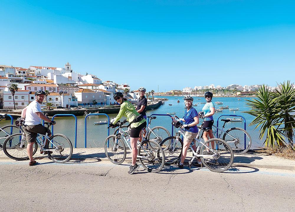 Radfahren an der Algarve