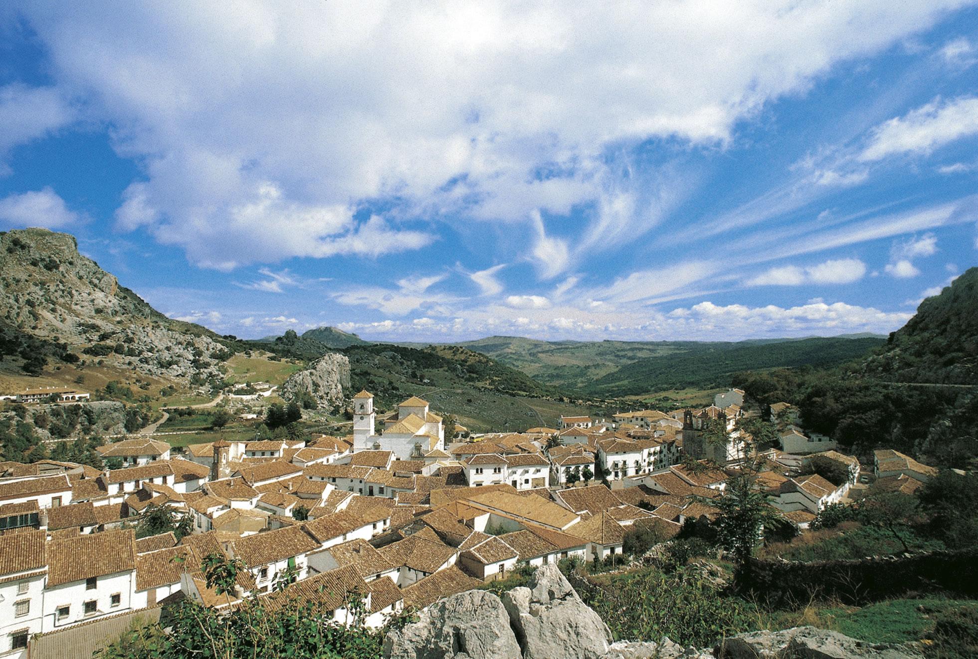 Weiße Dörfer Andalusiens - Grazalema