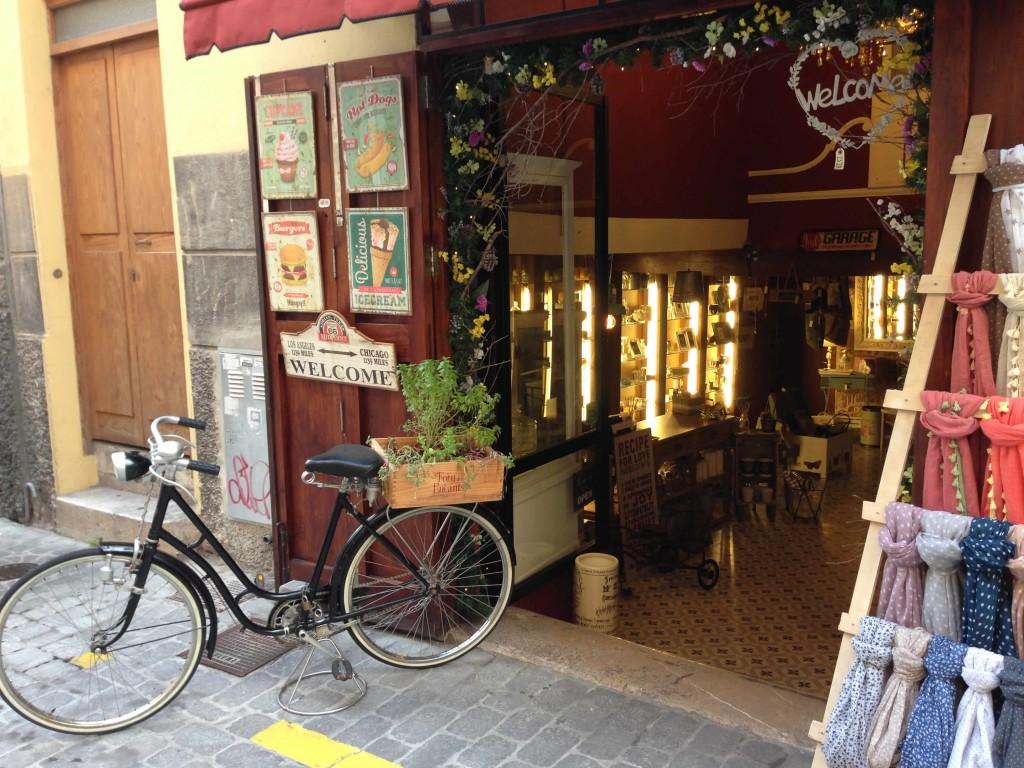 Urige und trendige Läden in Sa Gerreria in Palma