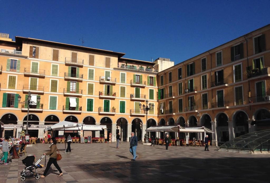 Plaza Major in Palma