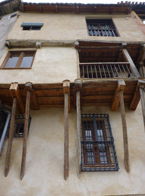 Mittelalterlicher Altbau Cuencas