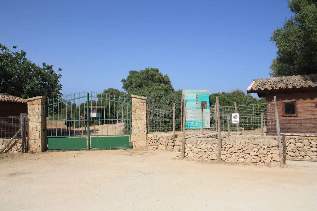 Eingang Vendicara Naturreservat
