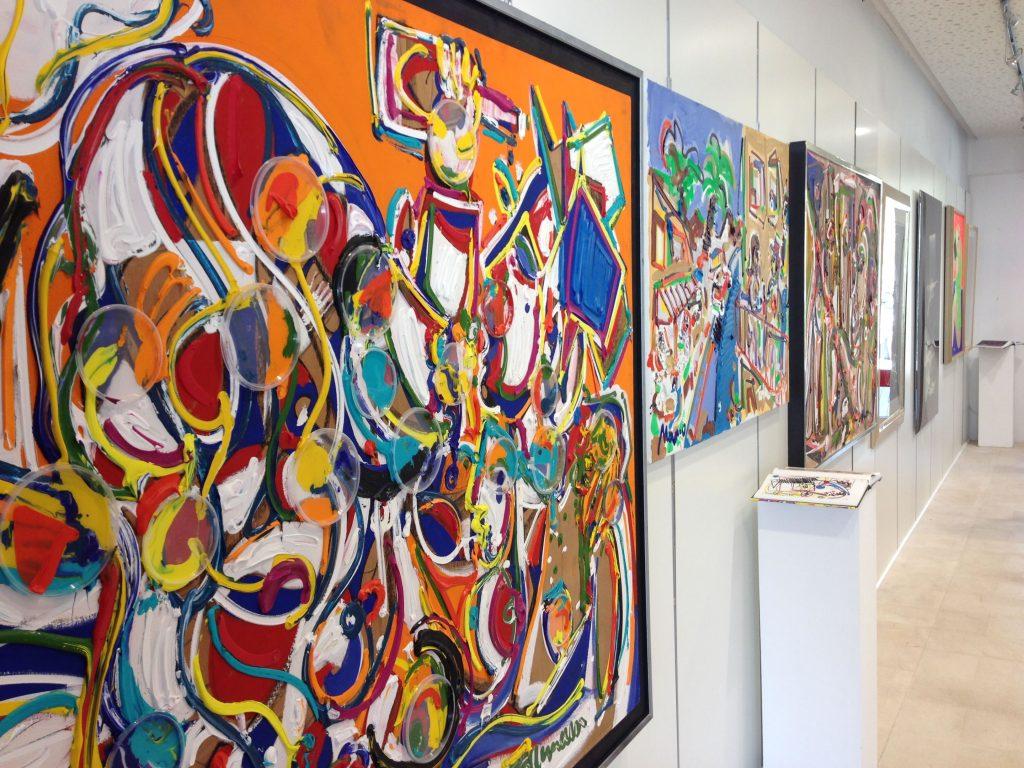 Kunst-Galerie Ahoy im Port Adriano