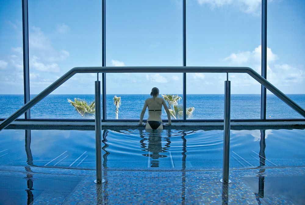 Indoor Pool Wellness Urlaub