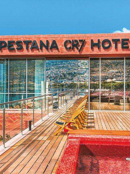Außenansicht - CR7 Hotel auf Madeira