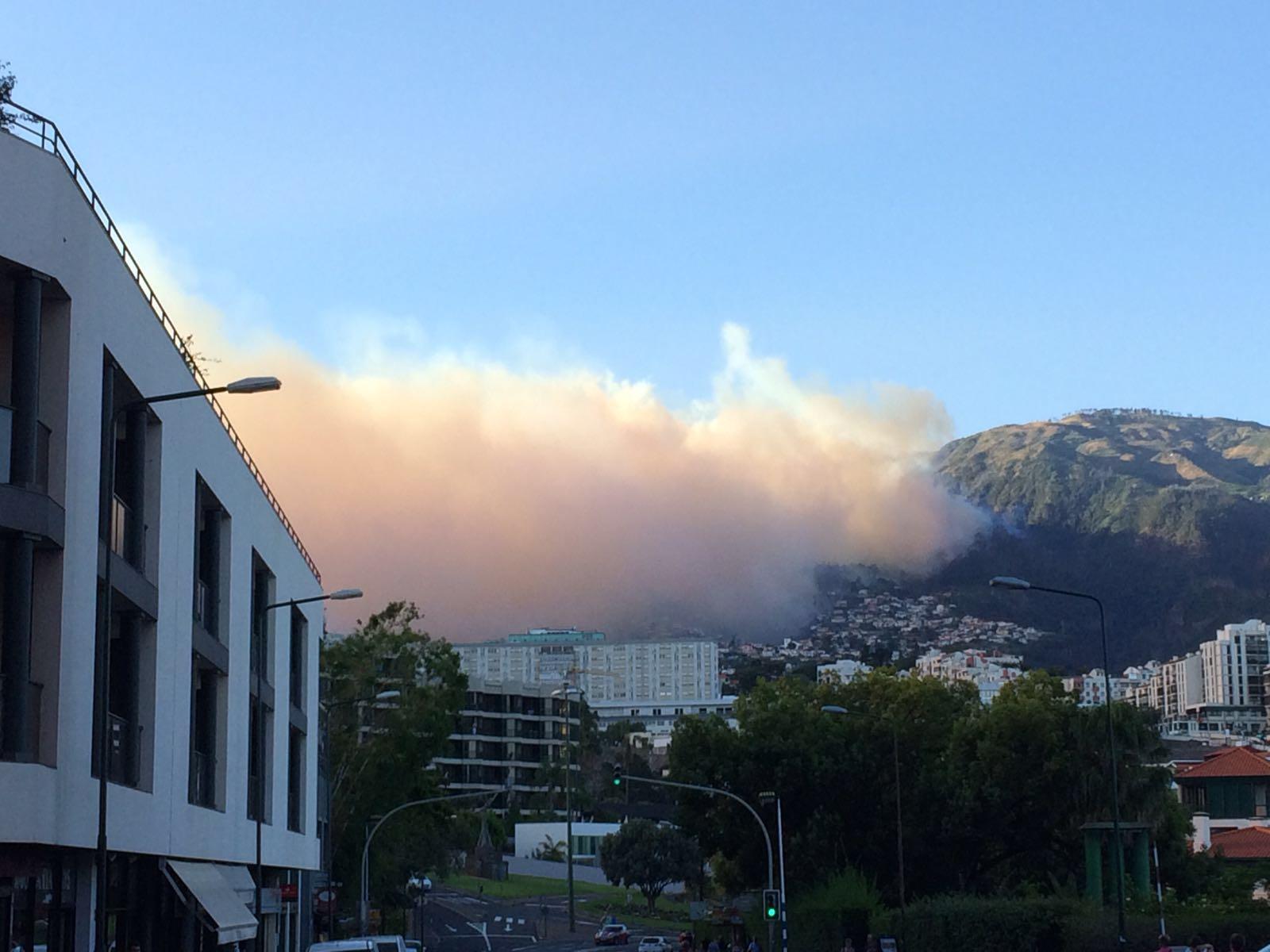 Wolkenwand Funchal