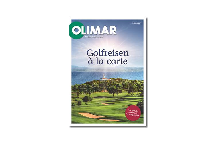 Golfkatalog 2017 OLIMAR Golfreisen Europa