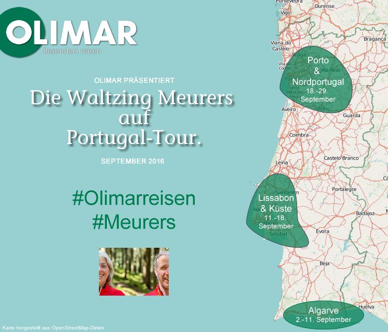 Portugal Tour Karte